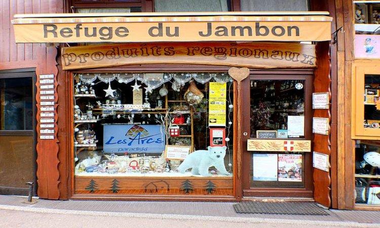 Le Refuge du Jambon Arcs - Vente de charcuterie et produits locaux